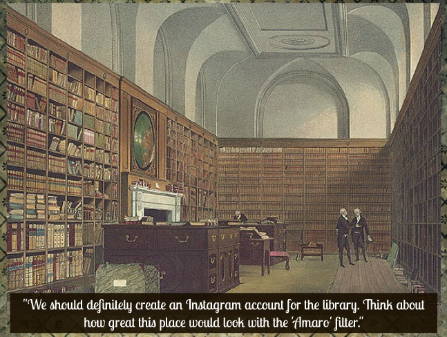 Market your library