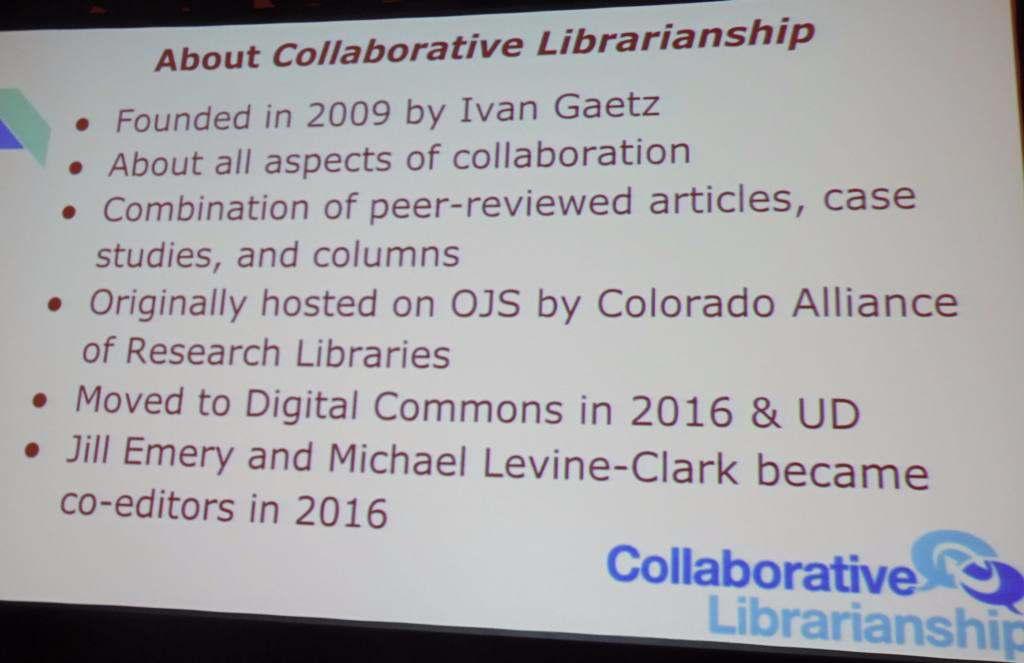 Collaborative Librarianship