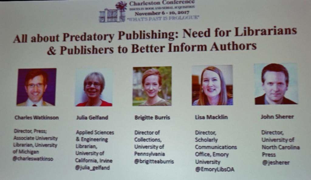 Predatory Publishing